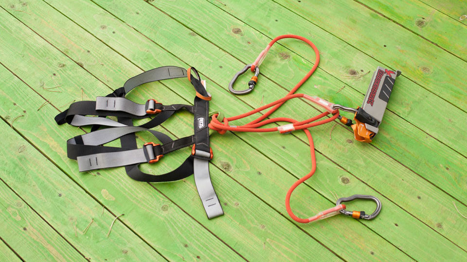 Safety Zipline Edison Krk